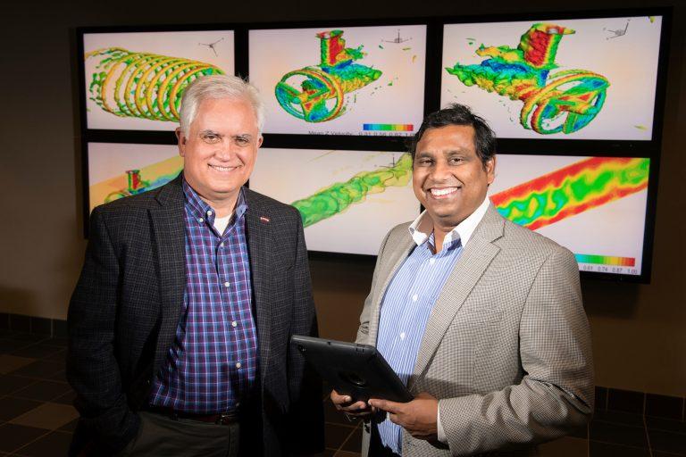 Dr. David Thompson (ASE) and Dr. Shanti Bhushan (ME)